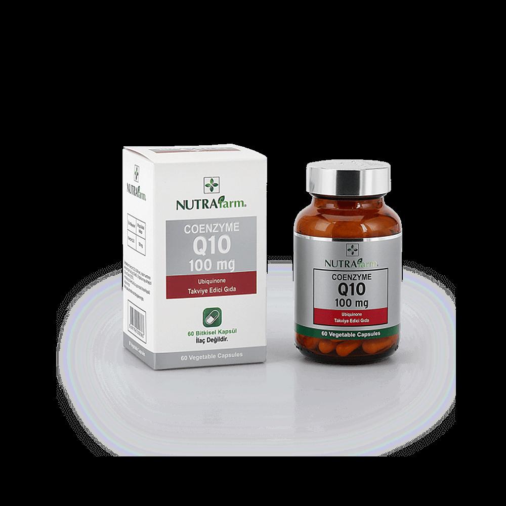 Dermoskin Nutrafarm Coenzyme Q10 100 Mg