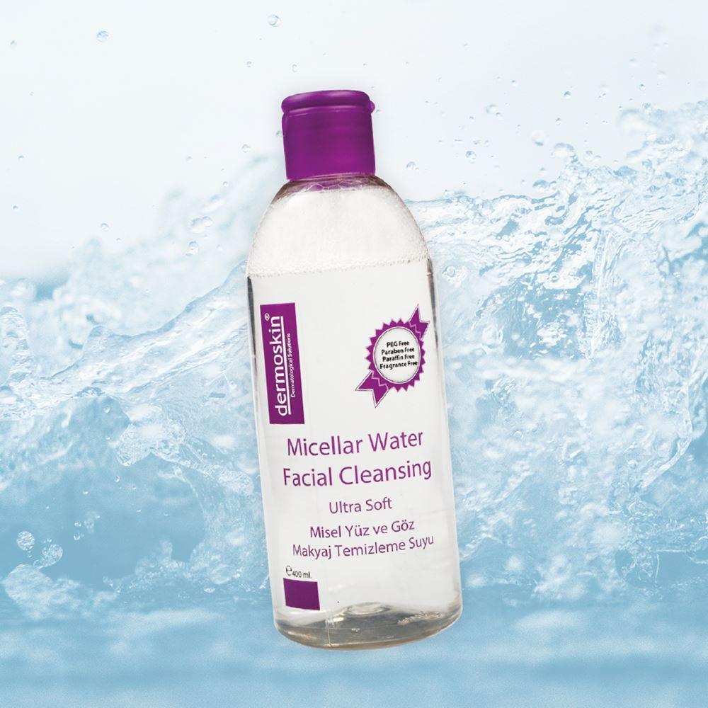 Dermoskin Micellar Water Yüz-Makyaj Temizleme Suyu