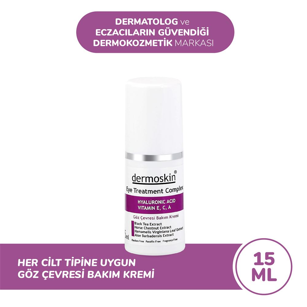 Dermoskin Göz Çevresi Bakım Kremi Dermoskin Eye Treatment Complex