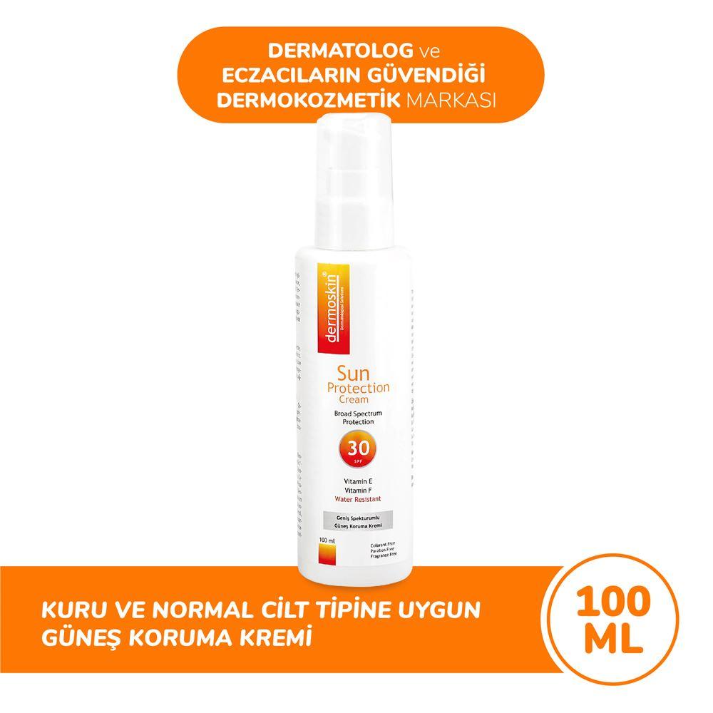 Dermoskin Spf 30+ Güneş Koruyucu Krem