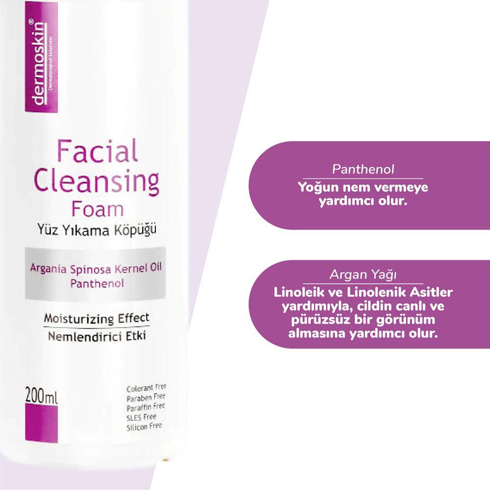 Dermoskin Facial Cleansing Foam Dermoskin Yüz Yıkama Köpüğü